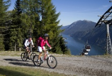 Bike-Urlaub am Achensee in Pertisau, MTB in den Tiroler Alpen